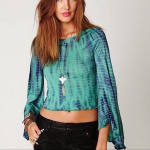 Free People Ashbury Bell Sleeve Tee